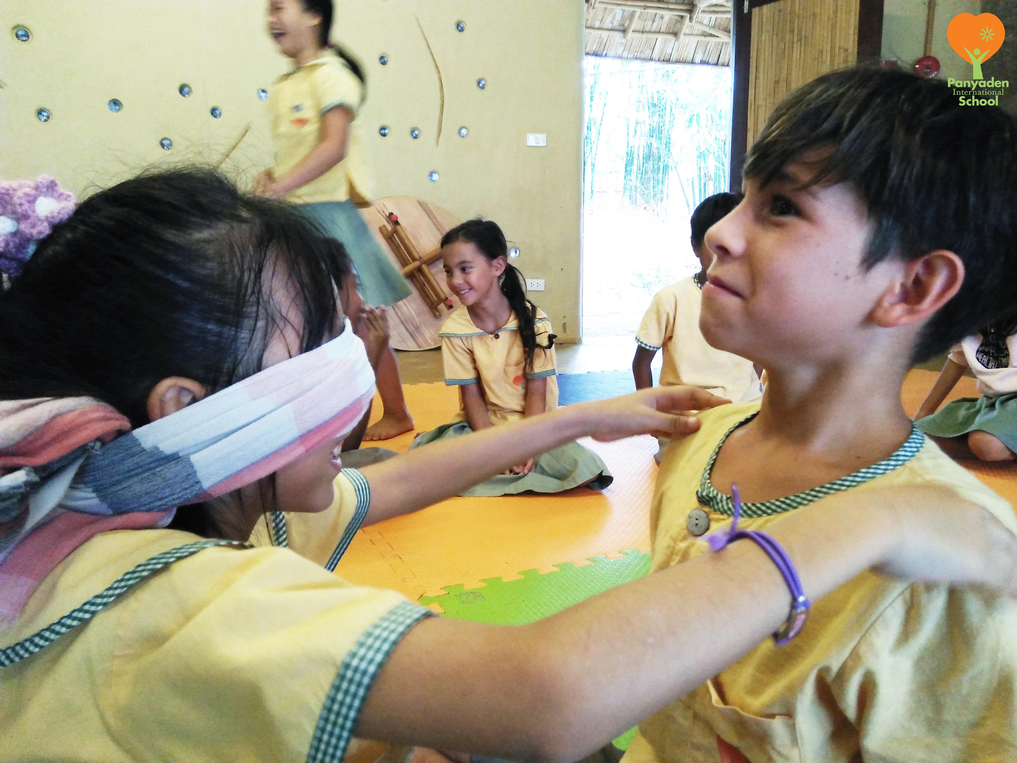 Panyaden Year 4 performing arts class, building empathy
