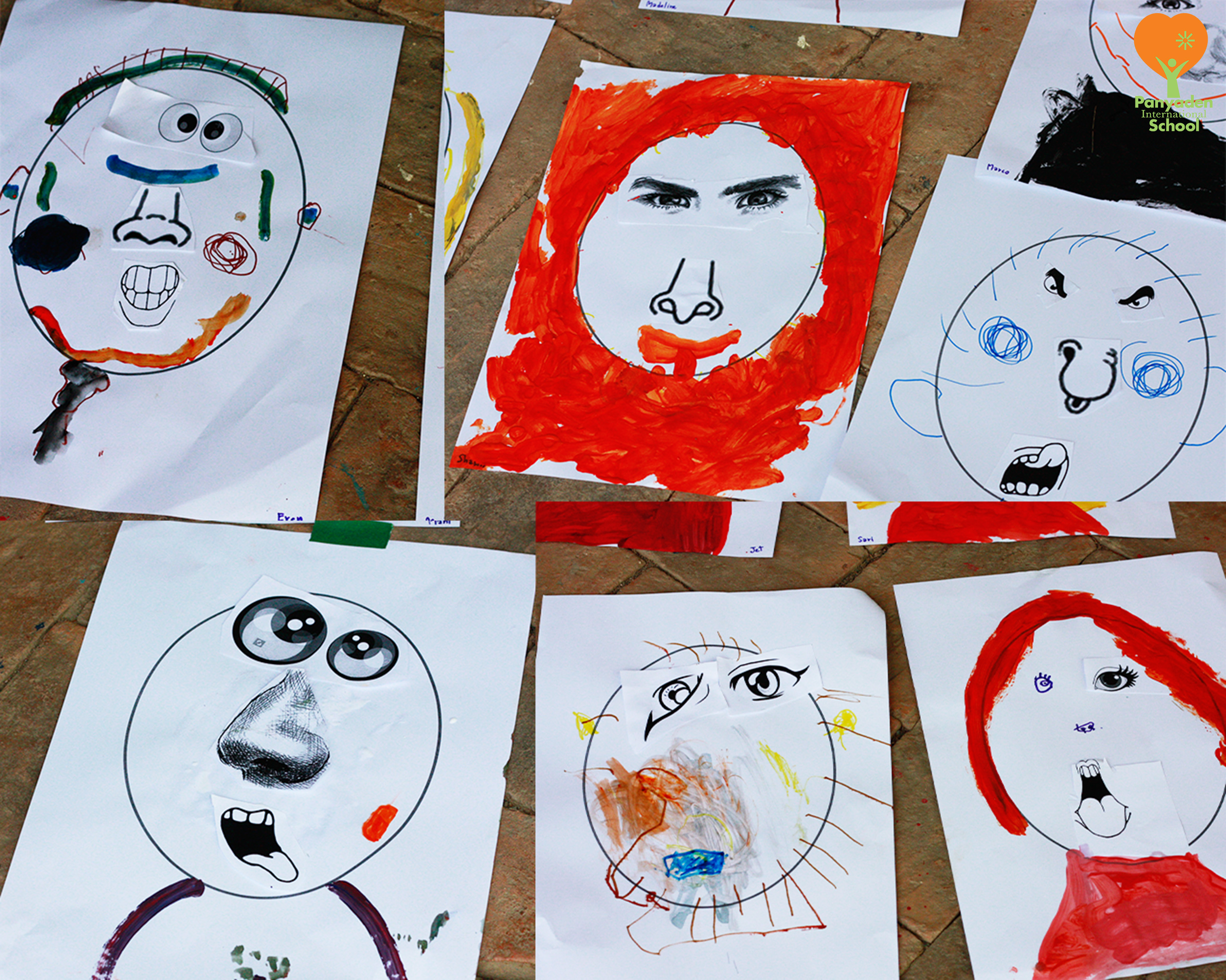 Panyaden Kindergarten K1Arts: facial expressions and emotions