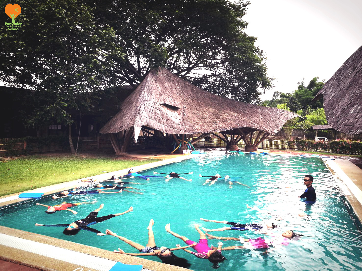 Panyaden Year 3 water safety PE class