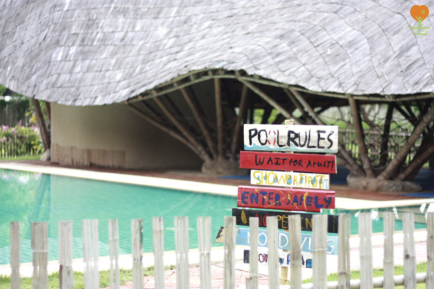 Panyaden Swimming Pool Rules Signboards made by Year 6/7 students