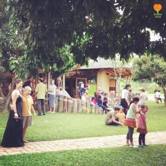 Tea with Teachers for Panyaden parents