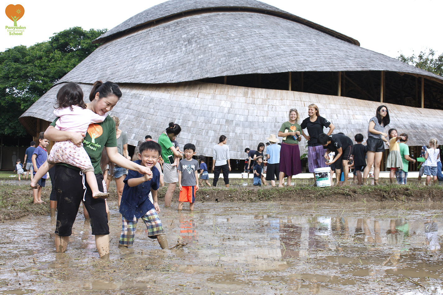 Panyaden rice planting day 2017