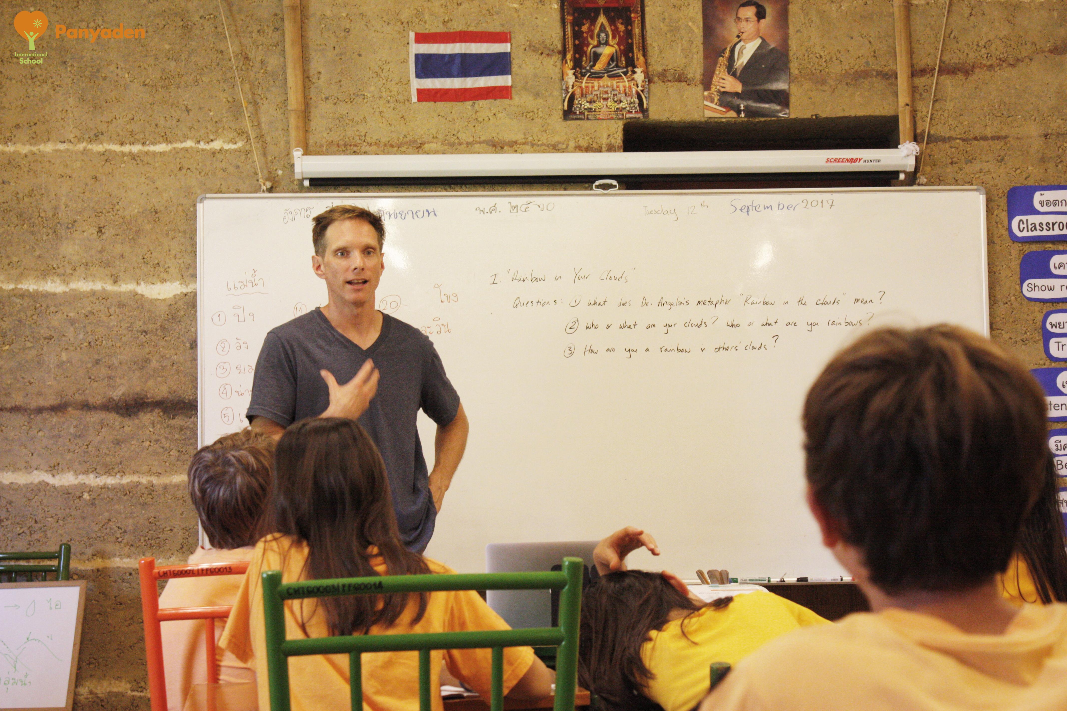 Kru Denny, Y7 Homeroom Teacher Spotlight Panyaden Newsletter