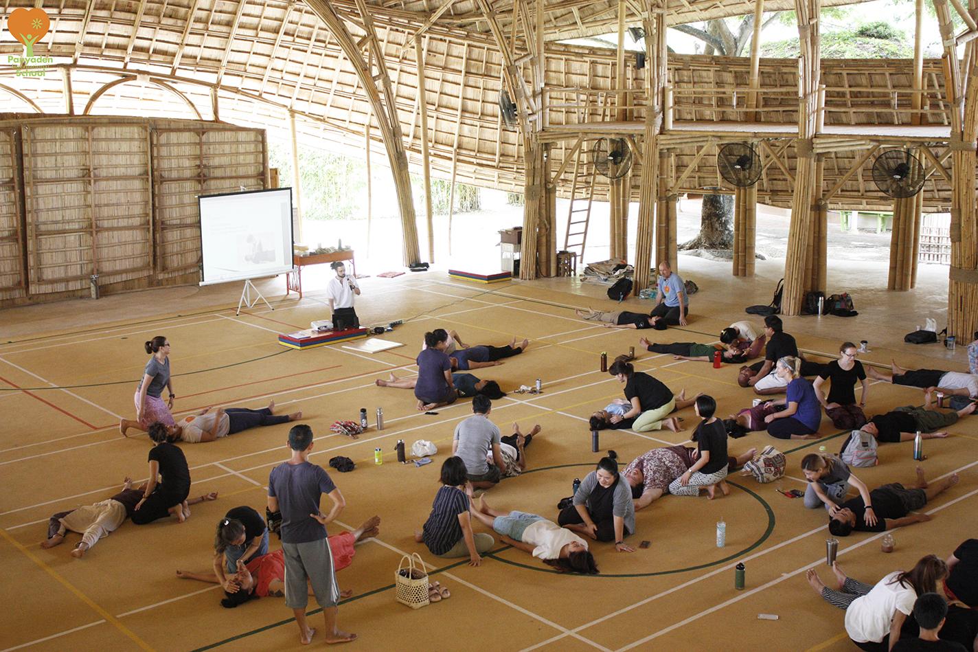 Teacher Training @ Panyaden - first aid lesson