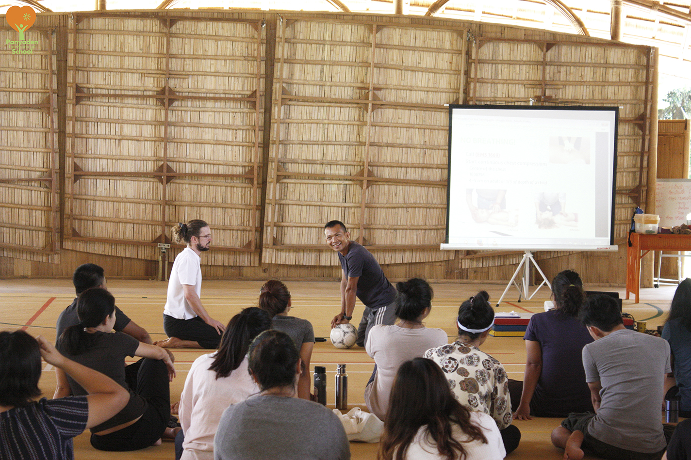 Teacher Training at Panyaden - learning basic first aid