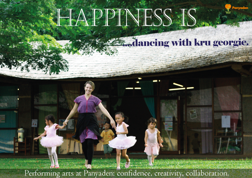 Kru Georgie Performing Arts Teacher profile poster, Panyaden International School