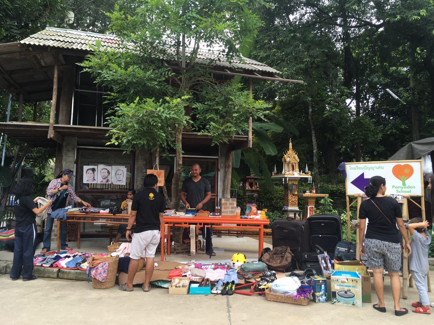 Panyaden Fundraiser at Baan Kang Wat
