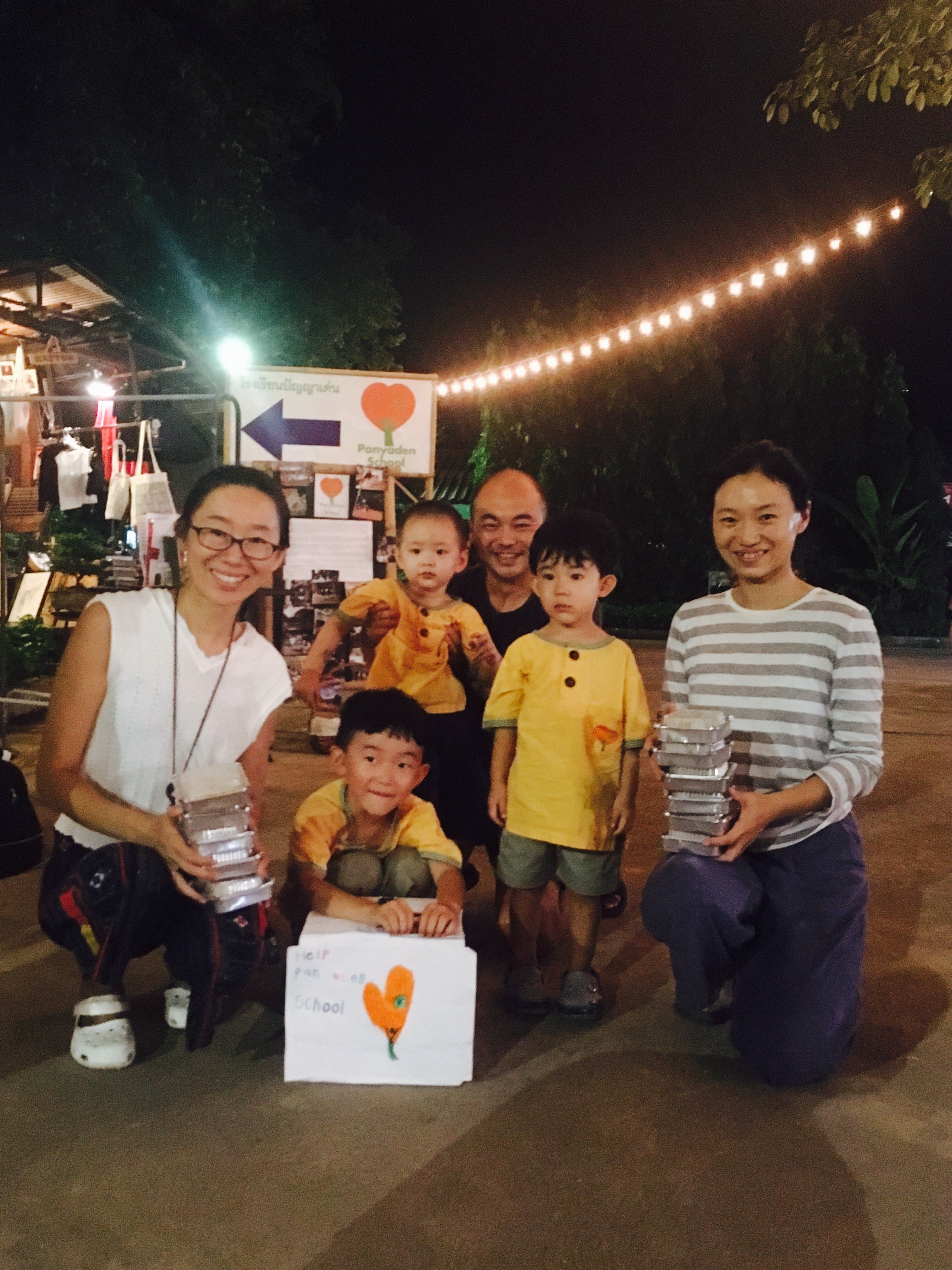 Panyaden Fundraiser Baan Kang Wat: Chinese students and their families chip in to help raise funds for our school