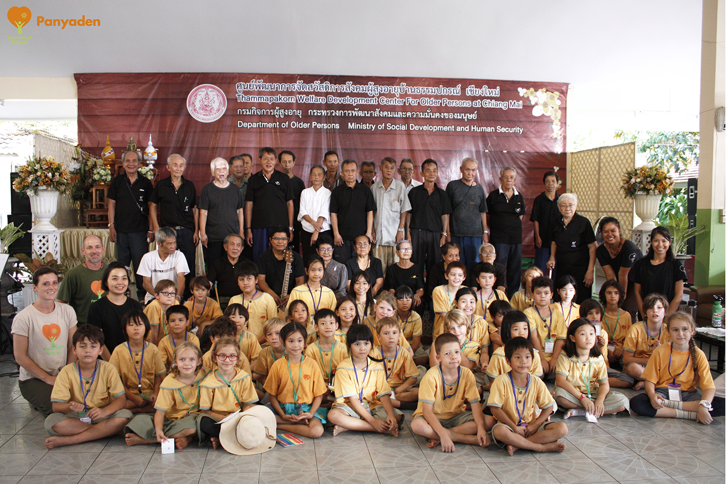 Panyaden Social Contribution Day: Y3 and Y6 visit elder aId home in Chiang Mai