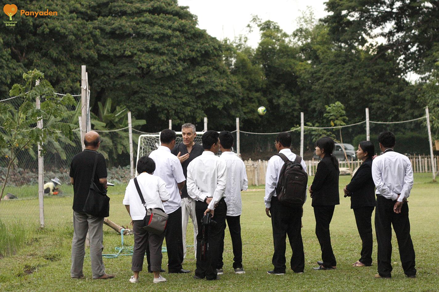 UNESCO Thailand and Myanmar officials at Panyaden