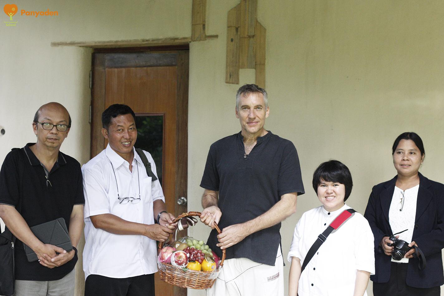 UNESCO Myanmar visits Panyaden