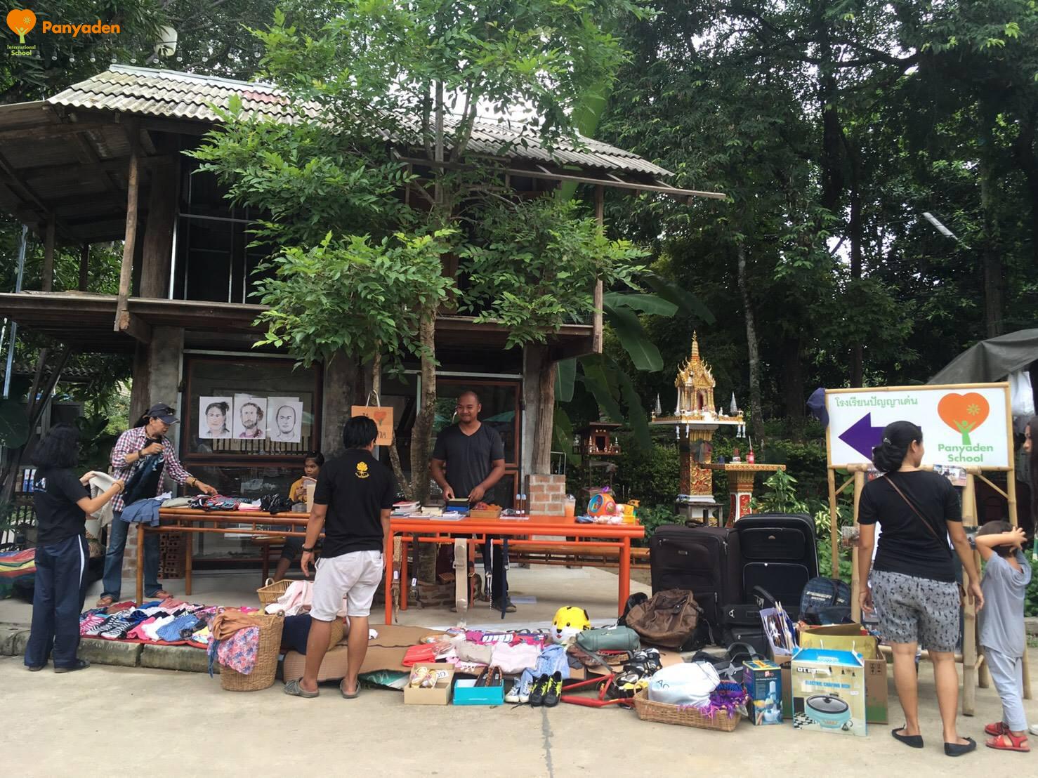 Rebuilding Panyaden fundraiser at Baan Kang Wat