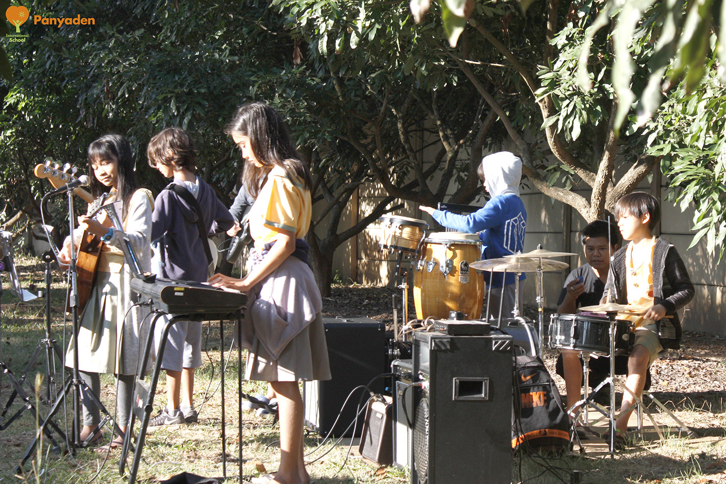 Father's Day at Panyaden - school band's music tribute