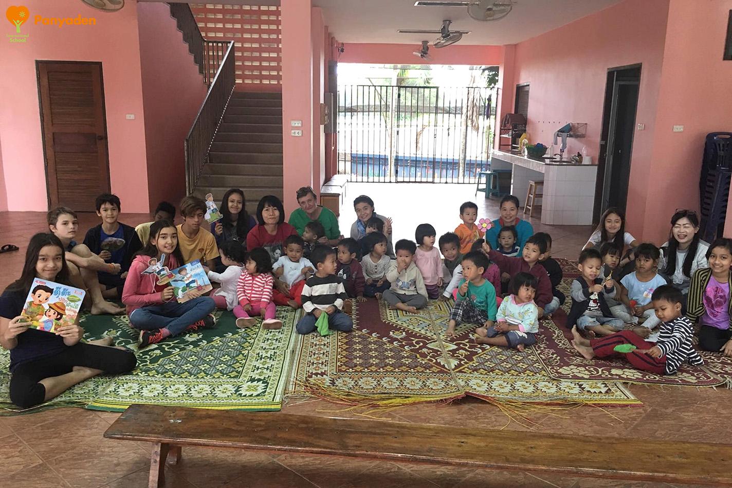 Panyaden Giving Week: Year 7 visits Agape Home Chiang Mai