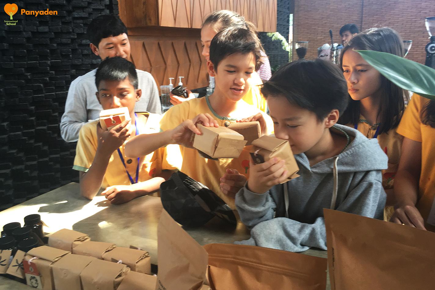 Panyaden Y7 Field Trip: learning about coffee 2