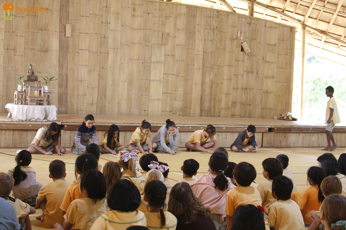 Panyaden Makha Bucha Day 2018 - role play by Year 2-7 (Y2-7) students