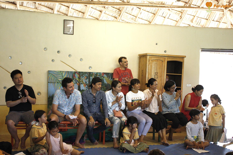 Panyaden Poetry Evening: parents and friends enjoy the reading