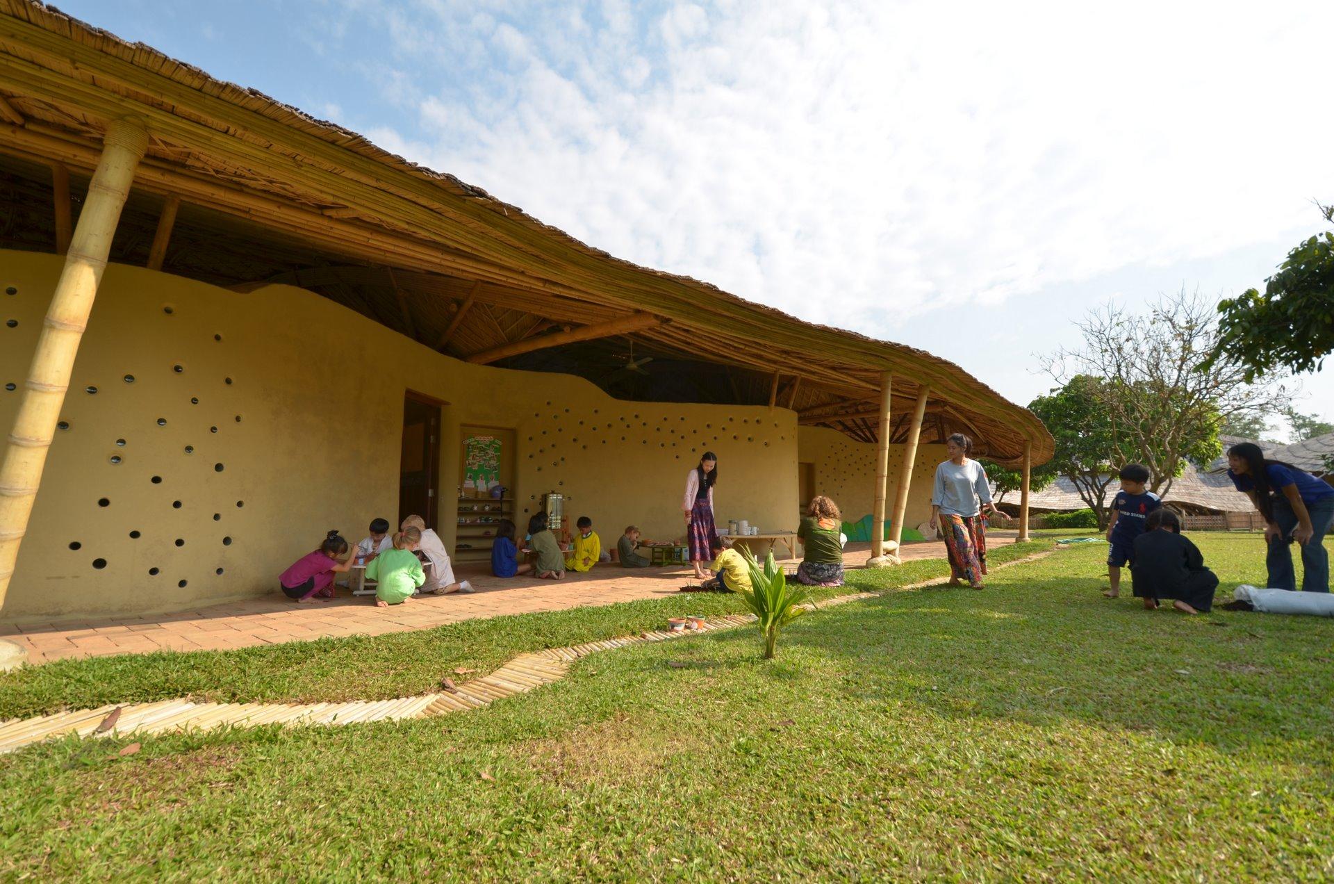 Panyaden International School adobe classrooms
