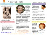 Panyaden School Newsletter - Issue 2 Feb 2012 - Mar 2012