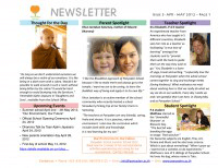 Panyaden School Newsletter - Issue 3 Apr 2012 - May 2012