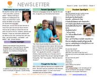 Panyaden School Newsletter - Issue 4 June - July 2012