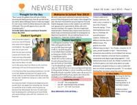 Panyaden School Newsletter - Issue 10 June 2013 - July 2013