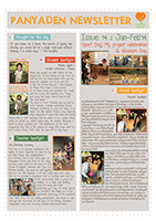 Panyaden School Newsletter - Issue 14 February - March 2014