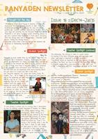 Panyaden School Newsletter - Issue 18 December - January 2015