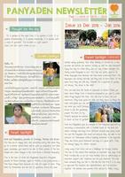 Panyaden School Newsletter - Issue 23 December - January 2016