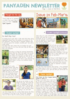 Panyaden School Newsletter - Issue 24 February - March 2016