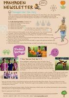 Panyaden School Newsletter - Issue 26 September - October 2016