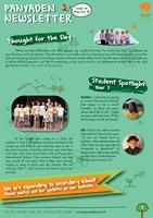 Panyaden School Newsletter - Issue 34 May - June 2018