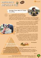Panyaden School Newsletter - Issue 35 September - October 2018